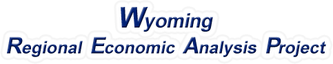 Wyoming Regional Economic Analysis Project